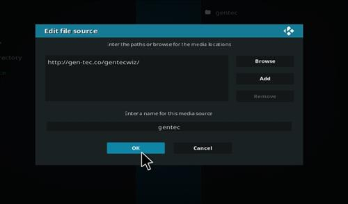 How to Install Gentec Repository with Screenshots step 7