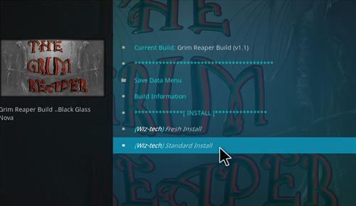 How to Install Grim Reaper Build with Screenshots step 19