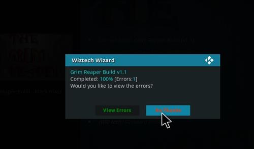 How to Install Grim Reaper Build with Screenshots step 21