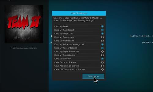 How to Install Kryptikz Kodi Build with Screenshots step 20
