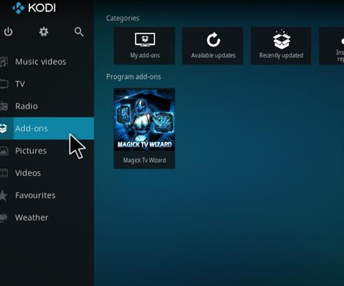 How to Install Magick TV Myth Lite Kodi Build with Screenshots step 14
