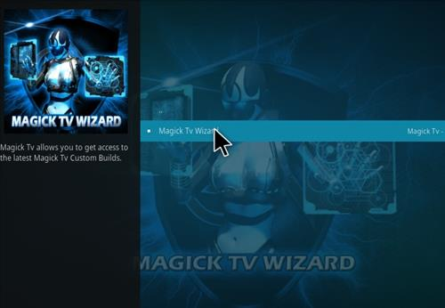 How to Install Magick TV Myth Lite Kodi Build with Screenshots step 16