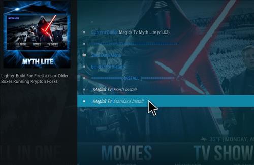 How to Install Magick TV Myth Lite Kodi Build with Screenshots step 19