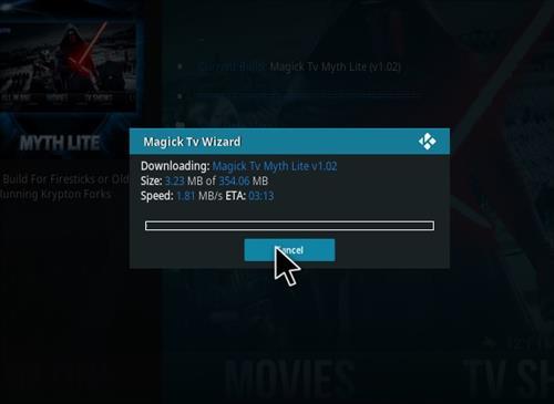 How to Install Magick TV Myth Lite Kodi Build with Screenshots step 21