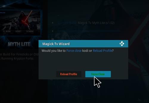 How to Install Magick TV Myth Lite Kodi Build with Screenshots step 22