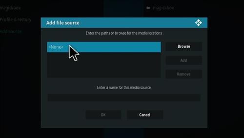 How to Install Magick TV Myth Lite Kodi Build with Screenshots step 4