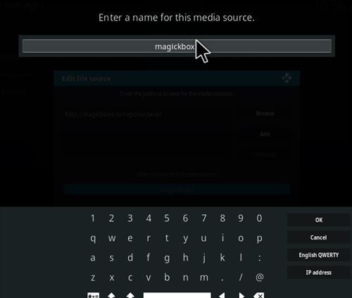 How to Install Magick TV Myth Lite Kodi Build with Screenshots step 6