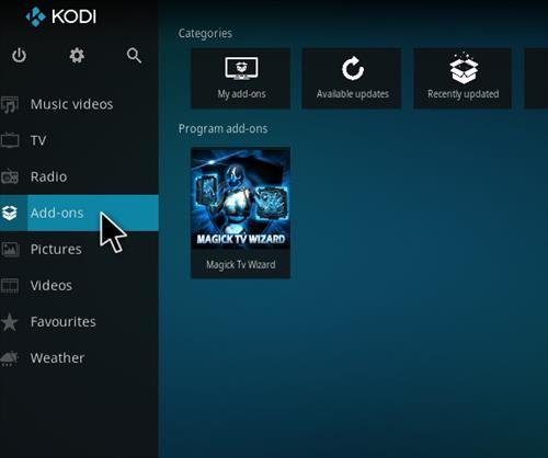 How to Install Magick TV Myth Lite Kodi Build with Screenshots step 8