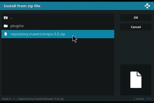 How to Install Maverick TV Add-on Kodi 17-17.6 Krypton step 12