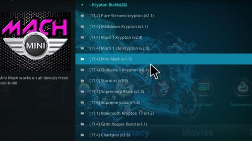 How to Install Mini Mach Kodi Build with Screenshots step 18