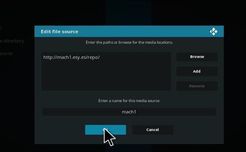 How to Install Mini Mach Kodi Build with Screenshots step 7