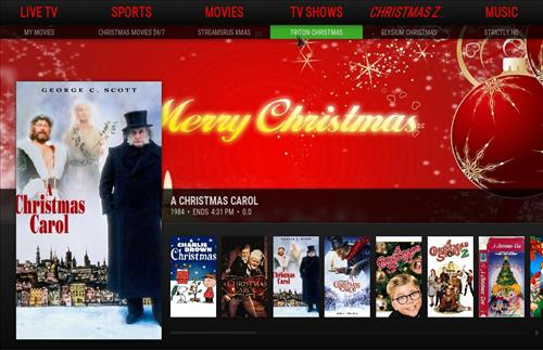 How to Install Misfits Xmas lite Kodi Build with Screenshots pic 1