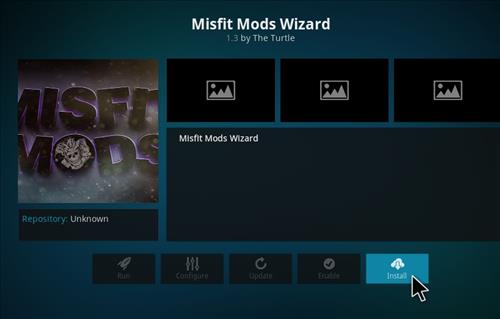 How to Install Misfits Xmas lite Kodi Build with Screenshots step 19