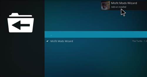 How to Install Misfits Xmas lite Kodi Build with Screenshots step 20