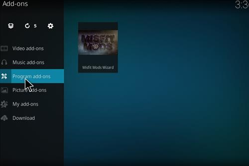 How to Install Misfits Xmas lite Kodi Build with Screenshots step 22