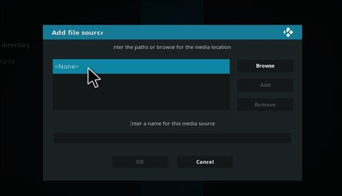 How to Install Misfits Xmas lite Kodi Build with Screenshots step 4