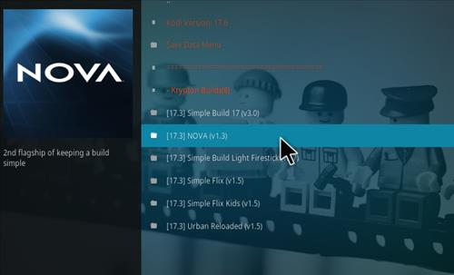 How to Install Nova Kodi Build with Screenshots step 18