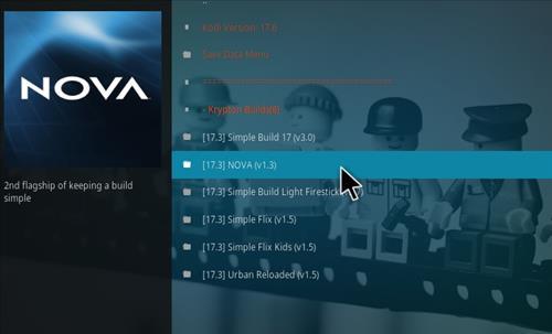 How to Install Nova Kodi Build with Screenshots step 18