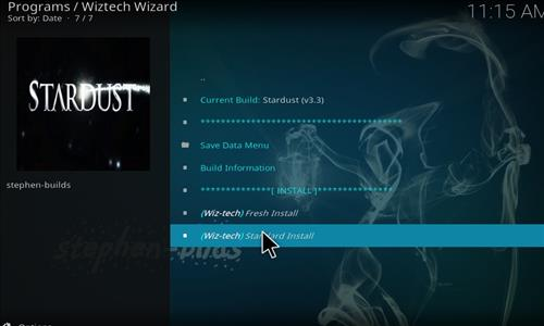 How to Install Stardust Kodi Build with Screenshots step 19