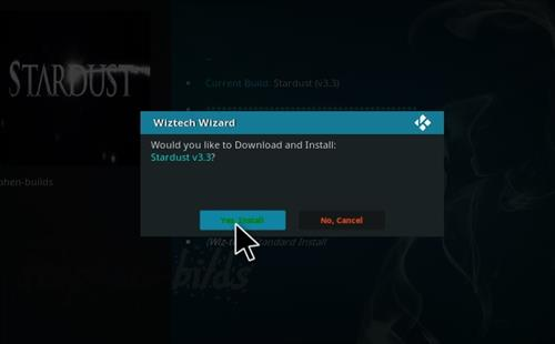 How to Install Stardust Kodi Build with Screenshots step 20