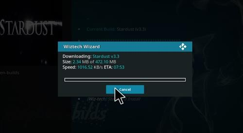 How to Install Stardust Kodi Build with Screenshots step 21