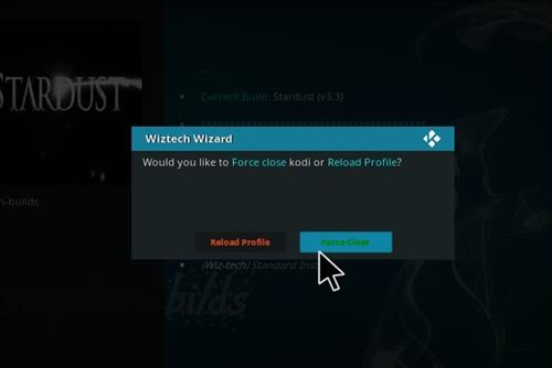How to Install Stardust Kodi Build with Screenshots step 22