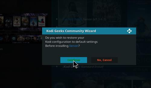 How to Install Xenon Diggz Kodi Build with Screenshots step 19