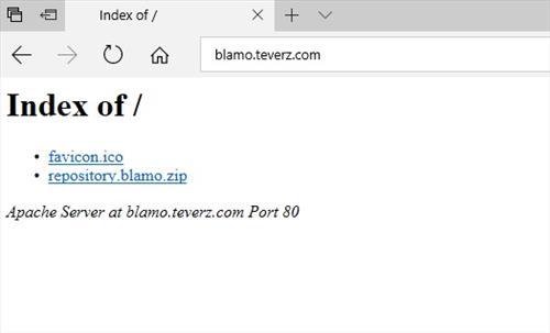 manual and download blamo repository step 1