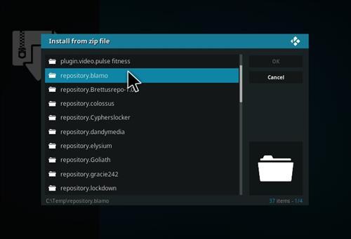 manual and download blamo repository step 5