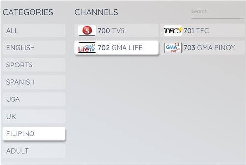 Best Filipno IPTV Setv Sceenshot