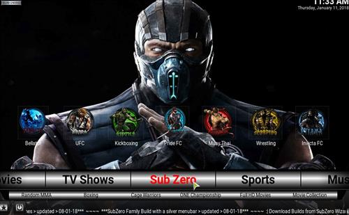 Best Kodi Build Subzero pic 1