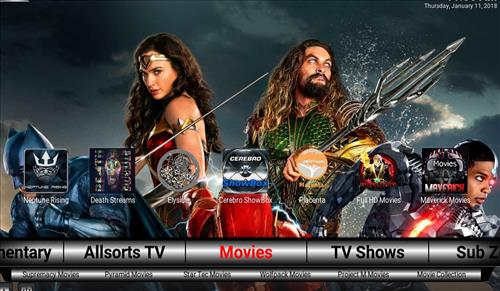 Best Kodi Build Subzero pic 3