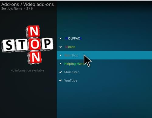 How To Install Non Stop Kodi Addon With Screenshots Step 17