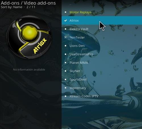 How to Install Atriox Kodi Add-on with Screenshots step 17