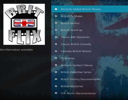 How to Install Brit Flix Kodi Add-on with Screenshots pic 2