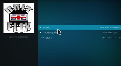 How to Install Brit Flix Kodi Add-on with Screenshots step 17