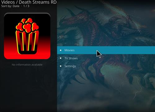 How to Install Death Streams RD Kodi Add-on with Screenshots pic 2