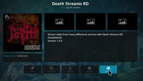 How to Install Death Streams RD Kodi Add-on with Screenshots step 18
