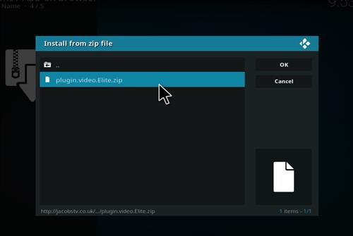 How to Install Elite Kodi Add-on with Screenshots step 12