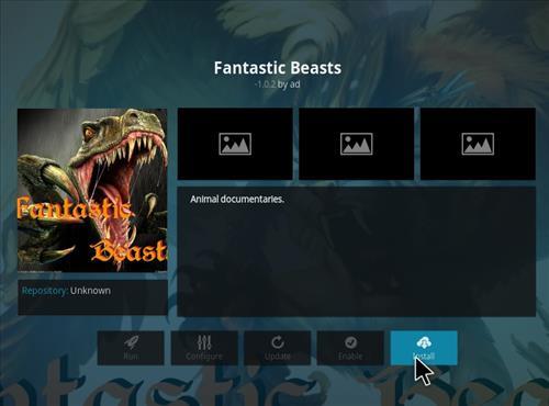 How to Install Fantastic Beasts Kodi Add-on with Screenshots step 18