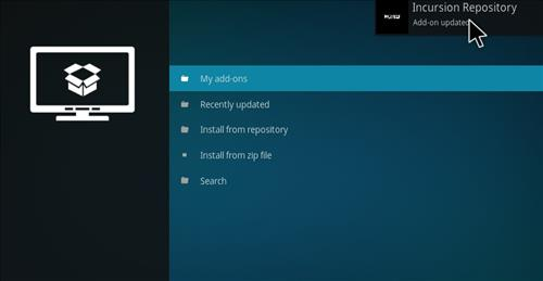 How to Install Incursion Kodi Add-on with Screenshots step 13
