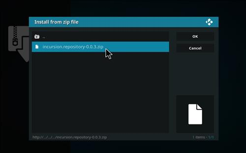 How to Install Incursion Kodi Add-on with Screenshots step 14