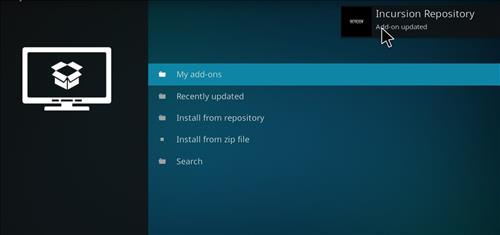 How to Install Incursion Kodi Add-on with Screenshots step 15