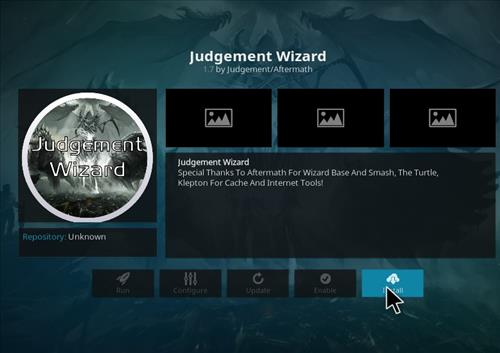 How to Install Judge Kodi Build with Screenshots step 18