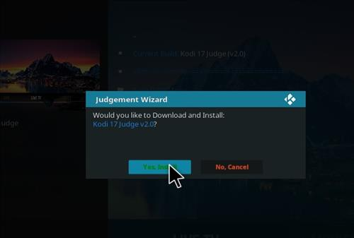 How to Install Judge Kodi Build with Screenshots step 25