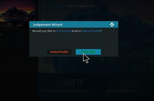 How to Install Judge Kodi Build with Screenshots step 27