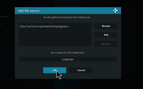How to Install Judge Kodi Build with Screenshots step 7