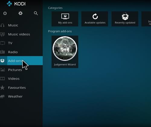 How to Install Judge Kodi Build with Screenshots step 8