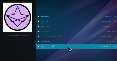 How to Install NetStreams AIO Kodi Add-on with Screenshots step 17