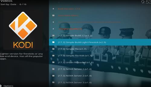 How to Install Simple Build Light Firestick with Screenshots step 18